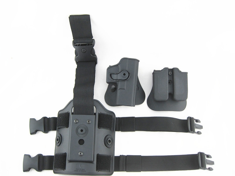 Մարտավարական Drop Leg Holster for Glock 17 IMI Rotary - Որս