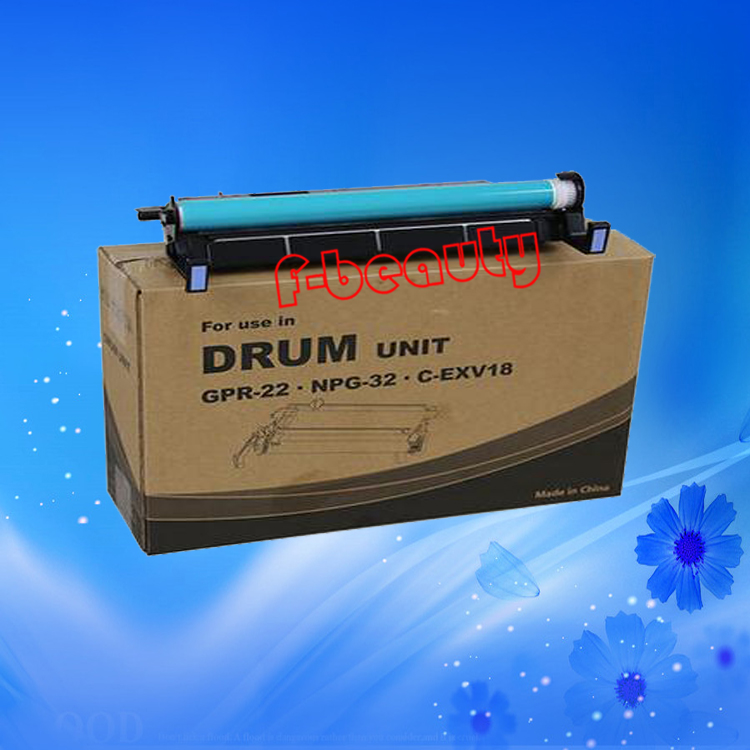 High Quality Long Life Drum Unit Compatible For Canon NPG32 iR1018 IR1022 1019 1020 1022 1023 IR1024 1025 G-932 GPR-22 CEXV18 compatible canon imagerunner 1018 1019 1022 1023 1023n 1023if 1024a 1024f 1024i 1024if 1025 n1025 if1025 black image drum unit