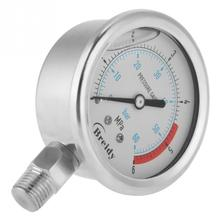 цена на Air Pressure Gauge 0-60Bar 0-6Mpa 1/4