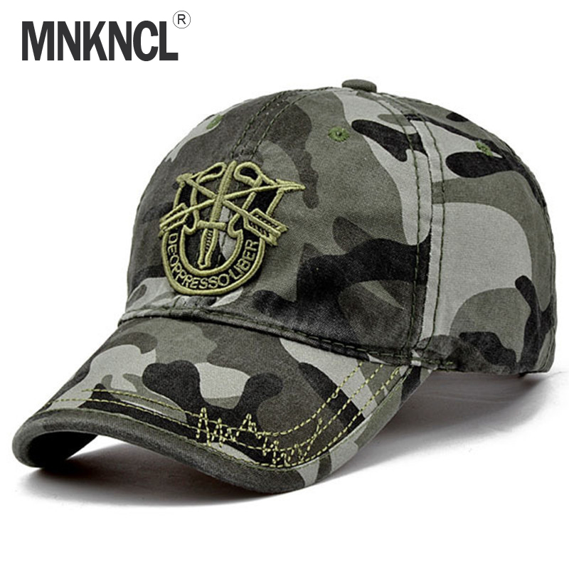 2017 New Brand Fashion Army Camo Baseball Cap Men Women Tactical Sun Hat Letter Adjustable Camouflage Casual Snapback Cap fashion rivets cotton polyester fiber men s flat top hat cap army green