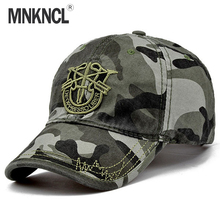 2017 New Brand Fashion Army Camo Baseball Cap Men Women Tactical Sun Hat Letter Adjustable Camouflage