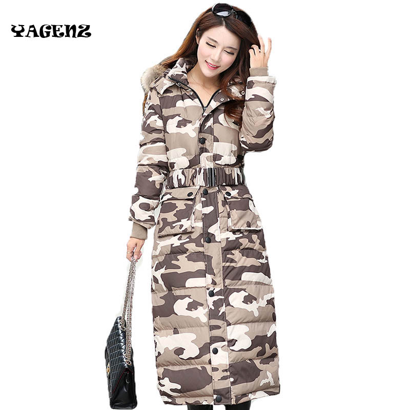 High Quality Women 2017 Fashion  Women Parka Winter Jacket Female Long Coat Thick Fur Hoody Lightweight Jacket Outwear B17  high quality womens coats winter fashion women parka winter jacket female long white duck down parkas coat thick hoody coat