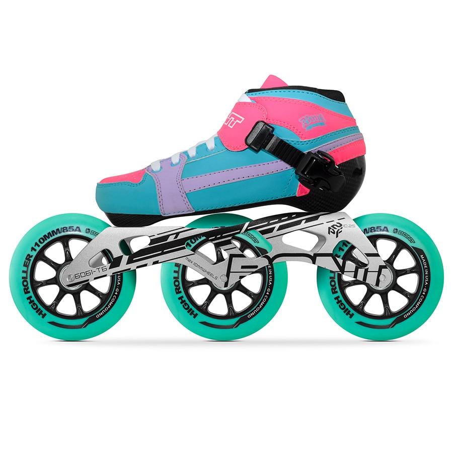 Skate-schuhe FleißIg Original Bont Professionelle Geschwindigkeit Inline Skates Roller Für Kinder Erwachsene Männer Heatmoldable Carbon Faser 110mm Skating Räder Patines Up-To-Date-Styling Rollschuhe, Skateboards Und Roller