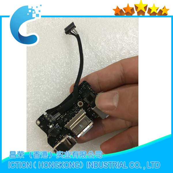 Original A1466 DC IN USB Jack Power Audio DC-IN Board 820-3455-A for Apple MacBook Air 1 ...
