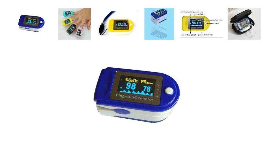 ФОТО Best home Care OLED Display SpO2 PR with CE FDA Fingertip Pulse Oximeter oximetro de dedo oximetro pulse oximeter CMS50D