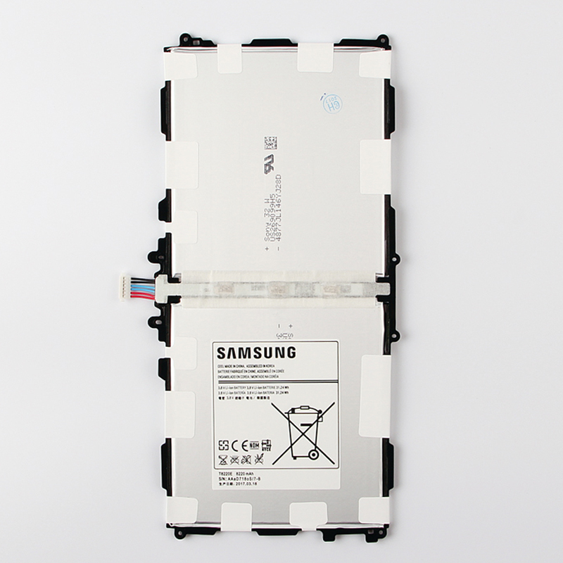 100% Оригинальные Замена Батарея <font><b>T8220E</b></font> для <font><b>Samsung</b></font> Galaxy Note 10.1 2014 издание P601 P600 P605 P607 T520 T525 Планшеты Батарея