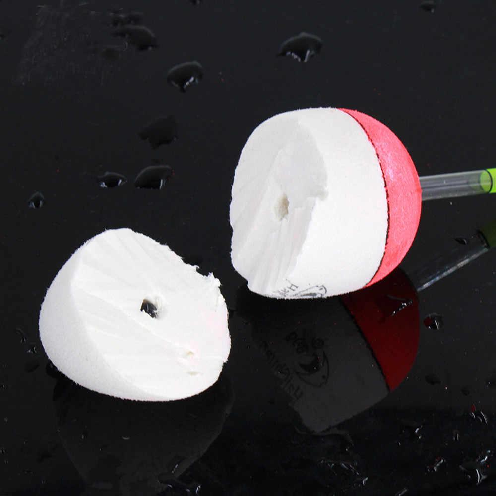 1 pc versão Atualizada Pot-Belly barriga luminosa Varas de Pesca Bóia De Pesca Bobber EVA núcleo sólido elástico pesca camping 35