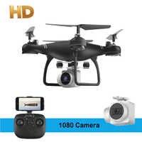 Rc drony HD 1080P kamera Wifi dron fpv helikopter zdalnego sterowania zabawka latająca Quadcopter zabawki dla dzieci dla Cam samolot bezzałogowy Rc