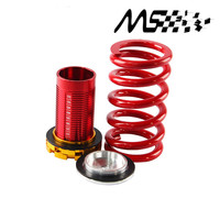 4pcs/set Forged Aluminum Coilover Kits for Honda Civic 88 00 Red available Coilover Suspension / Coilover Springs color red