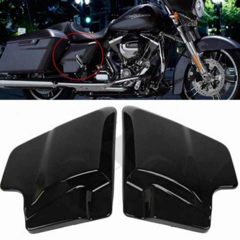 motorcycle ABS Side Cover Panel For Harley Touring Street Glide Touring FLT FLH 2009-2018 Vivid Blackmotorcycle ABS Side Cover Panel For Harley Touring Street Glide Touring FLT FLH 2009-2018 Vivid Black