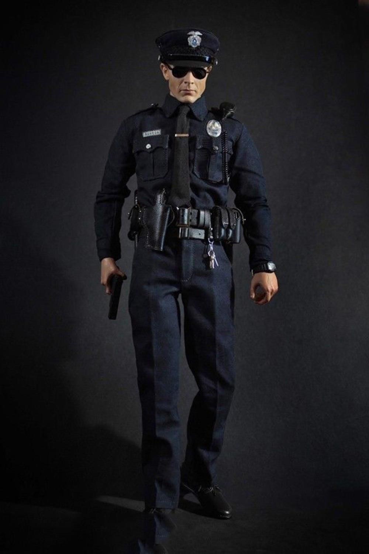 1/6 policji los angeles Patrol oficer policji Austin MA1009 całe pudełko figurka dla zabawki prezenty kolekcje w Figurki i postaci od Zabawki i hobby na  Grupa 1