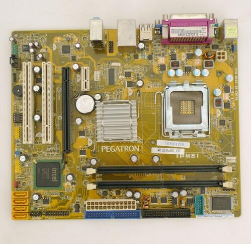 IPM31 support DDR2 775 pin integrated motherboard G31 founder