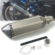 Motorcycle Exhaust pipe Muffler Escape DB-killer 36MM-51MM FOR HONDA CBR1000RR CBR600RR CBR1100XX CBR900RR
