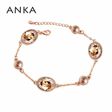 Top Quality! Wholesale! Women And Girls Crystal Charm Bracelet Made With Swarovski Elements #108127