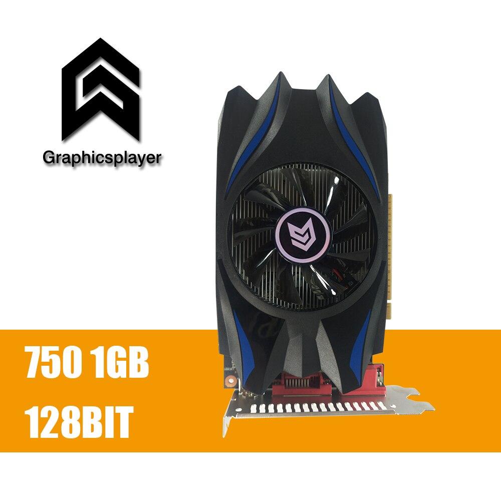 Graphics Card GTX 750 1024MB 128bit GDDR5 1GB Placa de Video carte graphique Video Card for NVIDIA Geforce PC VGA