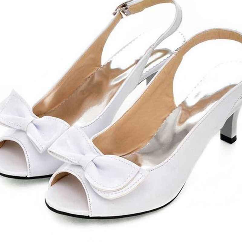 2018 Mới Bán Thời Trang Big Size 34-46 Giày Nữ Phụ Nữ Zapatos Mujer Chaussure Femme Bơm Sapato Feminino Tacon Valentine 1-9