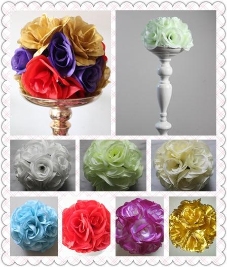 SPR 20PCS / lot 15cm dia. vjenčanja ljubakanje cvijet lopta ruža - Za blagdane i zabave - Foto 1
