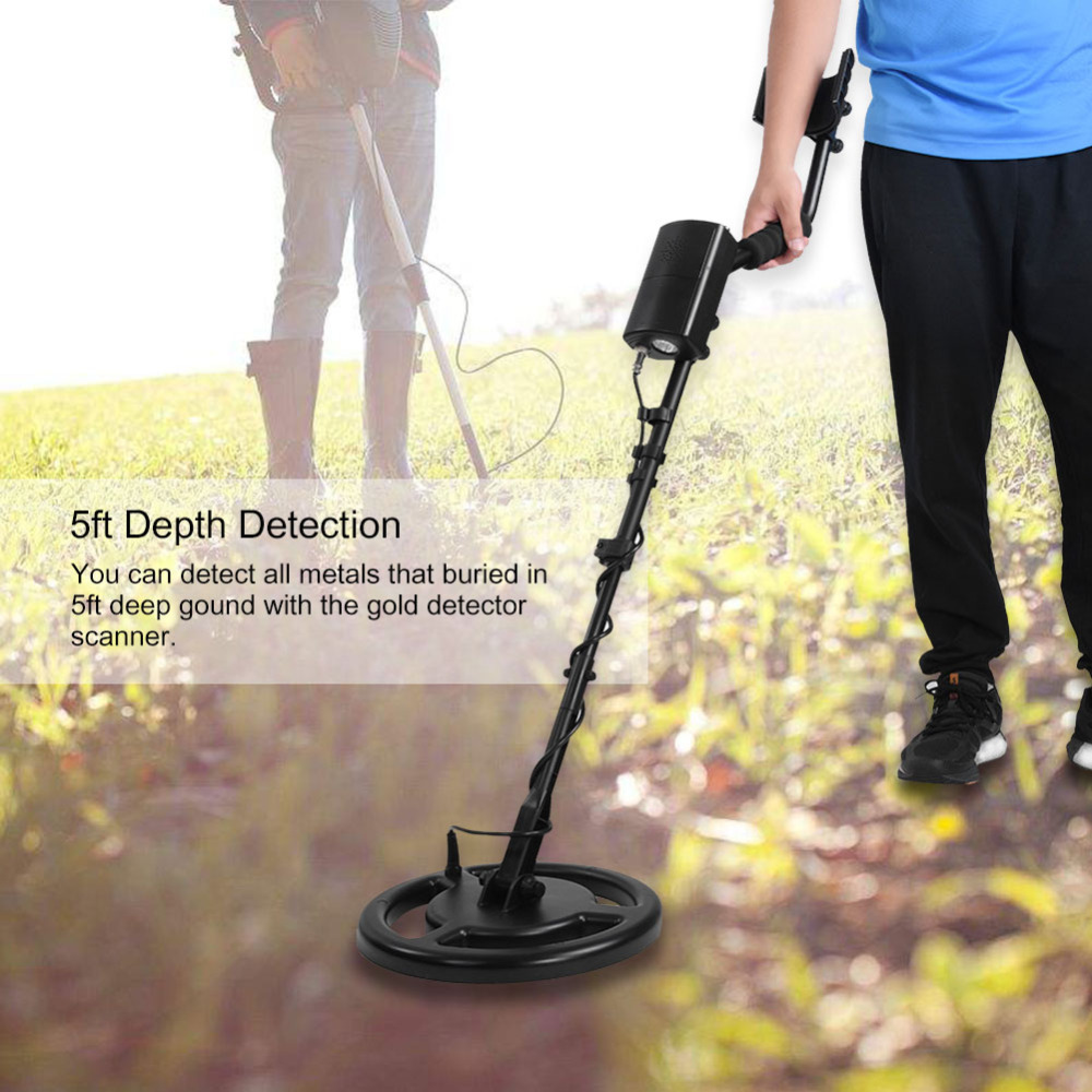 AR944 Professional Metal Detector Underground Depth 5ft Scanner Search Finder Gold Detector Treasure Hunter Detecting Pinpointer professional scanner hand held protable metal detector treasure hunter guard security