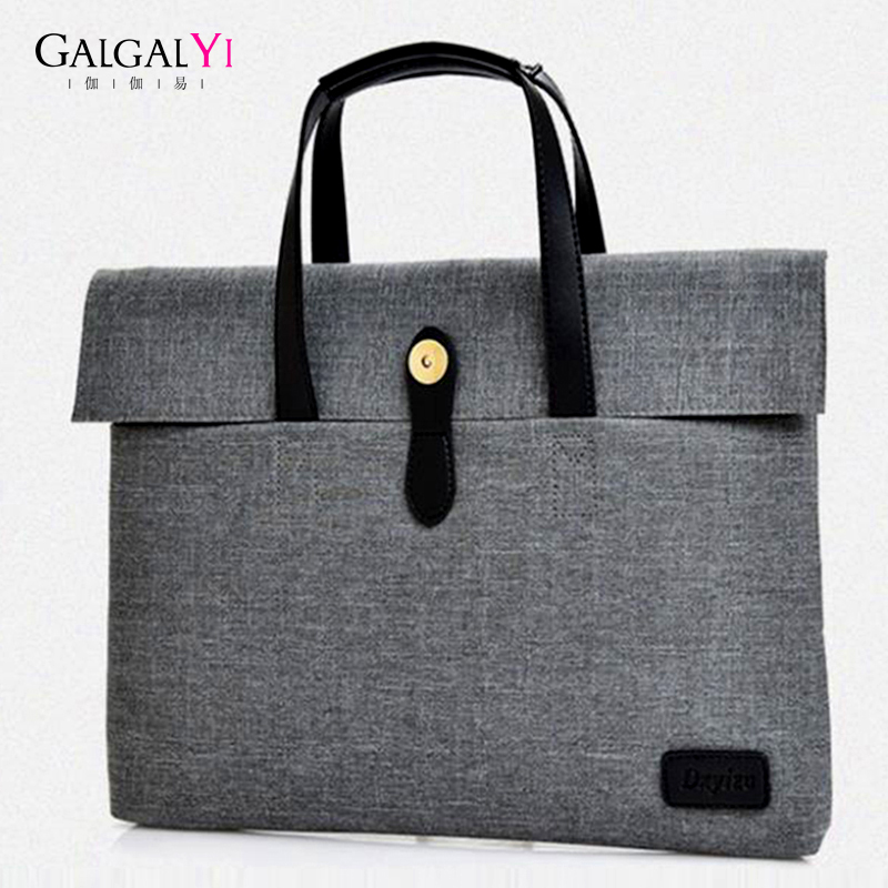 2018 Fashion Business Men Women Briefcase Bag  For Top Sell Nylon Laptop Bag Casual Man Bag Shoulder Bags Business Document