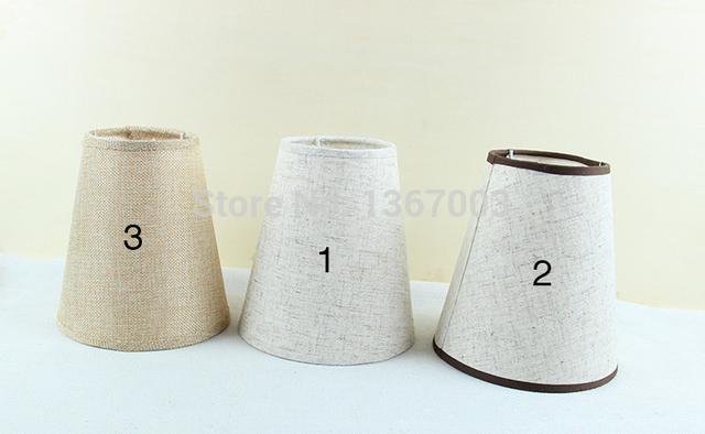 Pz lotto rinfusa handmade lino paralumi applique da parete