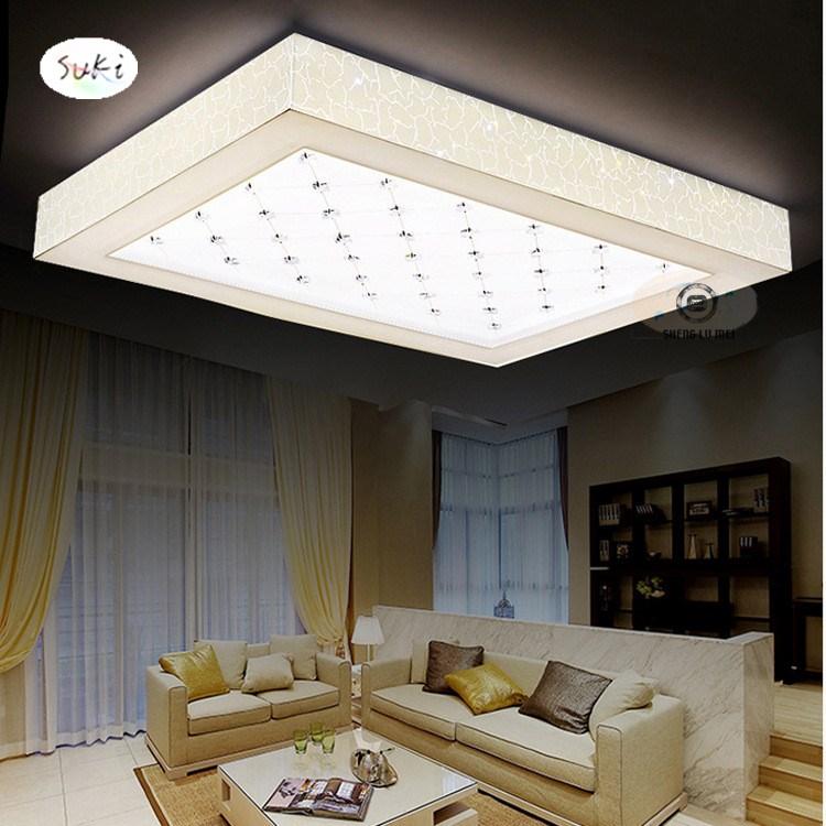 Cozy Minimalist Living Room: Free Shipping 220V LED Ceiling Lamp Modern Minimalist