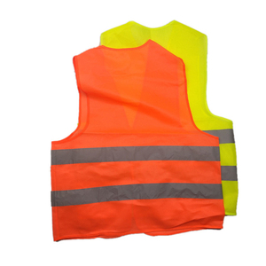Image 3 - High Visibility Yellow Vest Reflective Safety Workwear for Night Running Cycling Man Night Warning Working Clothes Fluorescent
