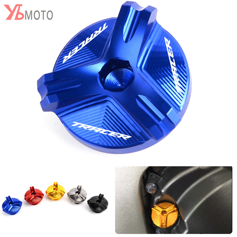 Motorcycle Accessories M20*2.5 Engine Oil Drain Plug Sump Nut Cup Plug Cover For YAMAHA TRACER 900 GT MT09 MT-09 2017 2018 2019