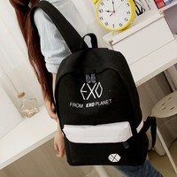 2015 New Women S Colorful Canvas Backpacks Rucksacks Men Student School Bags For Girl Boy Casual