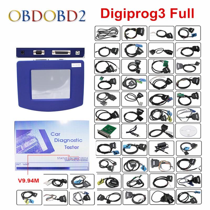 Prix pour Hottest Vente Digiprog 3 Odomètre Programmeur Logiciel Complet V4.94 Digiprog III Kilométrage Correction Outil Digiprog3 DHL Livraison