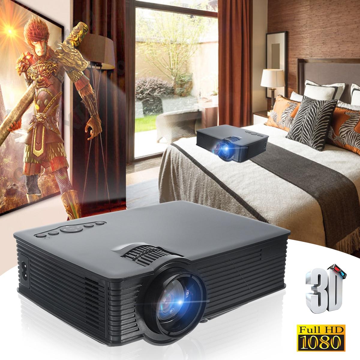 Thinyou GP-9 3000 Lumens Projector Black Mini Projector HDMI Digital Home Theater