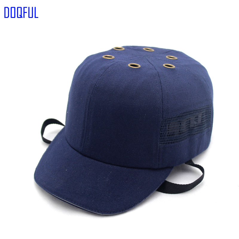 Deepen Breathable Work Safety Helmet Bump Cap Baseball Welder Hat Head Protective Caps Workplace Anti-impact Riding Helmets cntang summer embroidery letter w baseball cap fashion cotton snapback for men women trucker hat unisex casual caps gorras