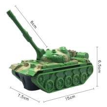 Rc Tank Remote Control Car Radio Kit Tracked Vehicle 1/16 1:16 Parts Military Tanks Diy 2wd Robot Boy Toy