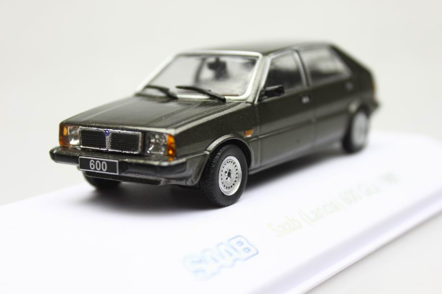 Atlas 1:43 Saad Lancia 600 Gls 1980 Alloy car model vintage cars ...