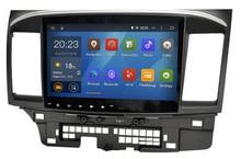 Cable Quad Android 5.1.1 Coche GPS estéreo navegador navi navi radio Headunit player para Mitsubishi Lancer EX 1024*600