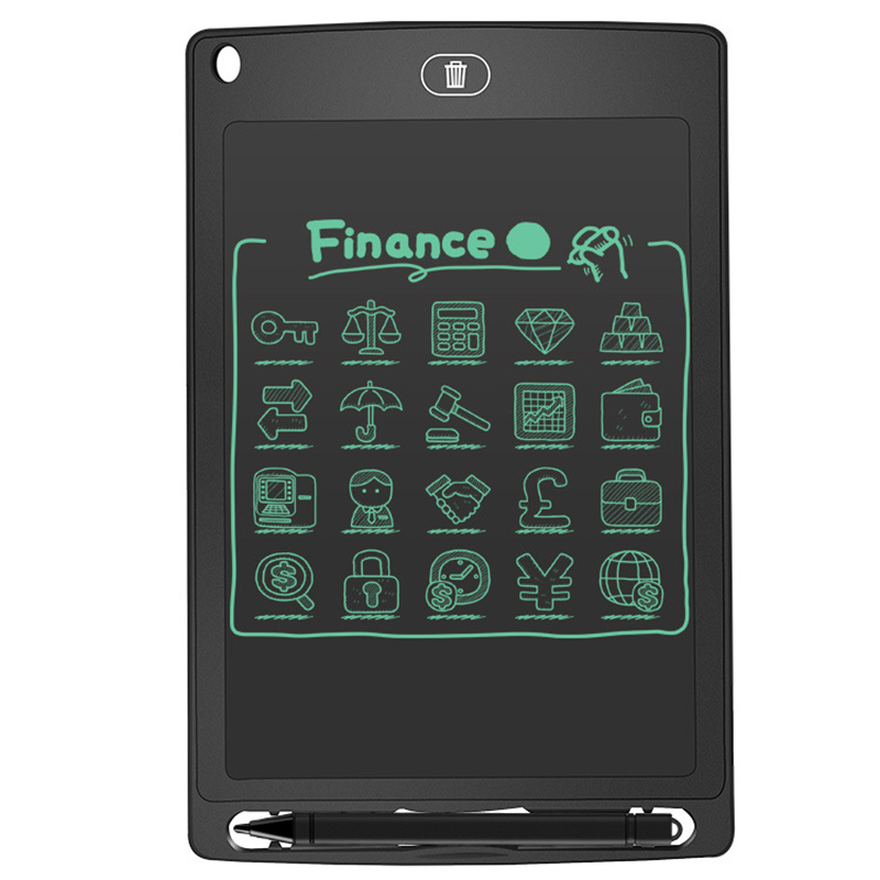 Купить с кэшбэком Bulletin Board Mini Blackboard 8.5 Inches LCD Digital Tablet Magnetic Chalkboard for Children Graffiti Flip Chart Writing Boards