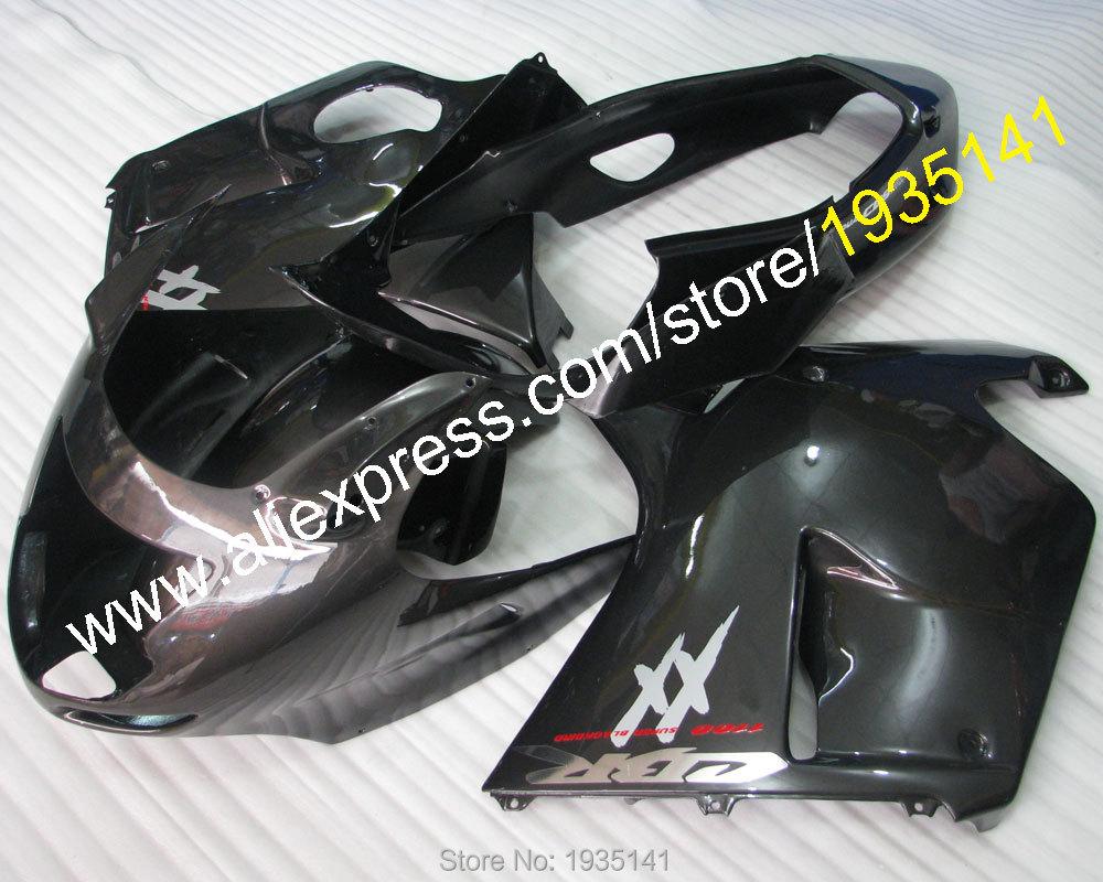 Più nuovo aftermarket kit Per Honda CBR 1100 XX CBR1100XX 96-07 1996-2007 ABS di Plastica Carenatura motore (stampaggio ad iniezione)