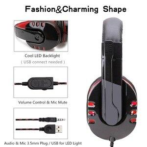 Image 4 - Wired משחקי סטריאו אוזניות USB אוזניות גיימר עם מיקרופון אוזניות גיימר עבור PS4/MP3/PC/מחשב אוזניות עבור גיימר