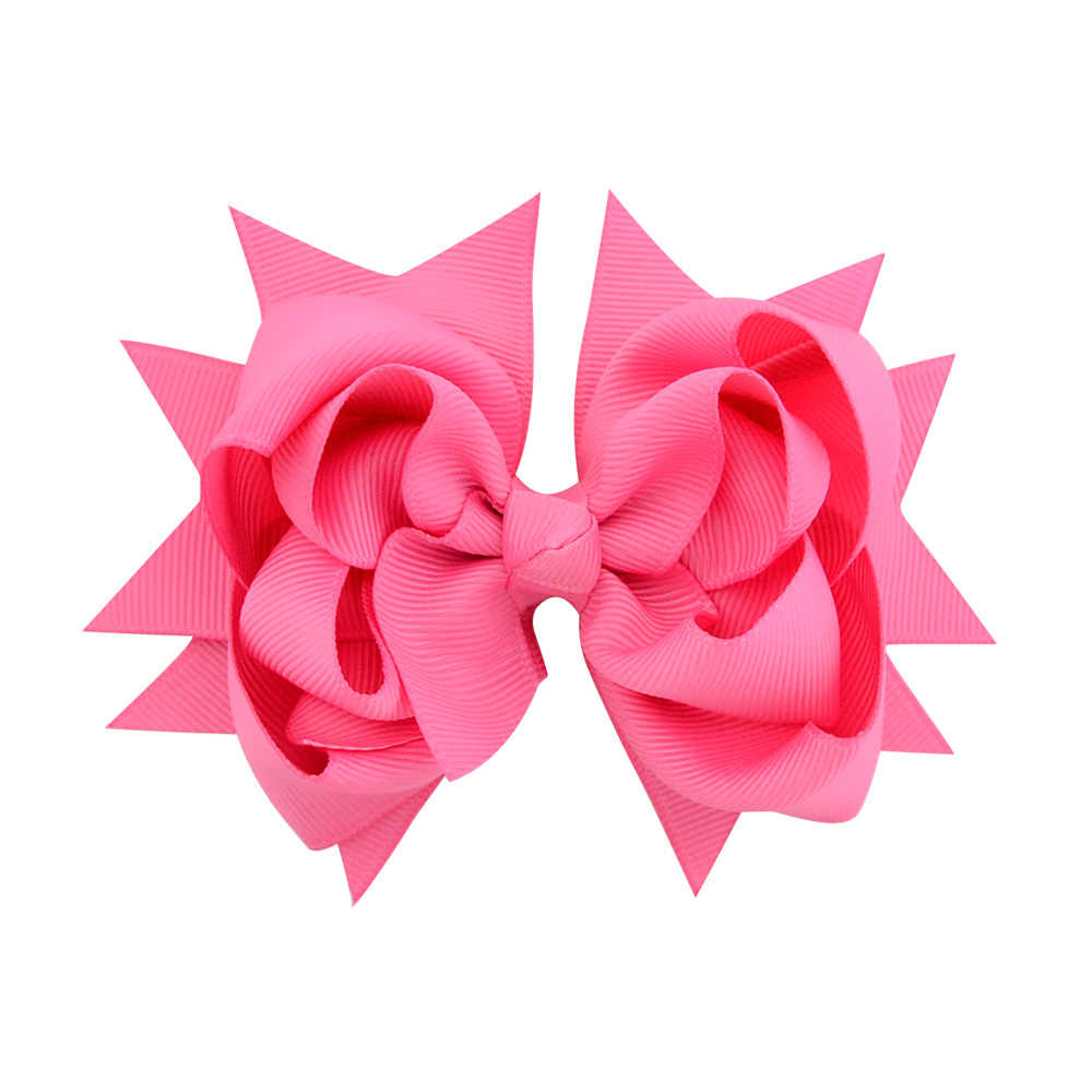 2018 New Hot 1 piece  Boutique Kids Flower Headwear High Quality Bow Hair Clips Hair Accessories 722