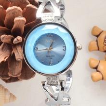 Mulheres de Alta Qualidade Pequeno Dial Pulseira de Aço Inoxidável Quartzo Analógico Pulseira de Strass Completo Senhoras Relógio de Pulso Simples Vestir Relógios