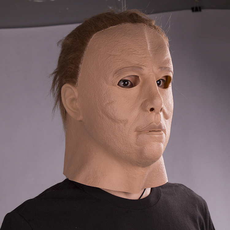 Halloween Cosplay Latex Michael Myers Mask Carniaval Character Scary Movie Theme Face Scary Mask Movie Full Face Head Masks