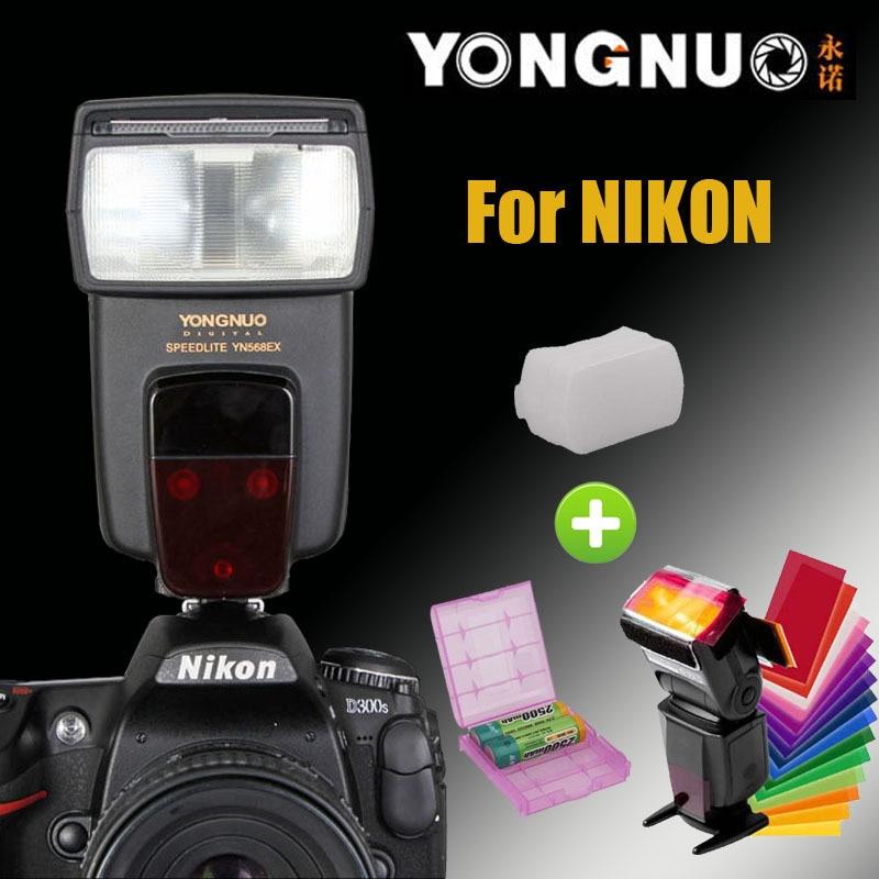 YongNuo YN-568EX for Nikon HSS Flash Speedlite YN 568 D800 D700 D600 D300 D200 D7000 D90 D80 D5200 D5100 D5000 D3200 D3100 D3000 falmec quasar top parete 90 ix 800