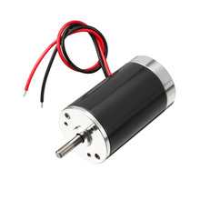 UXCELL(R) High Quality 1Pcs 12V ZYTD-38SRZ-R DC Motor 3000RPM 7W Permanent Magnet Micro Brushed Motor zytd 38srz r dc 24v 5000 rpm speed 7w 5mm dia shaft wired connector motor