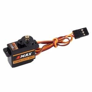 Image 3 - EMAX Servo Digital ES08MDII ES08MD II, Mini engranaje de Metal de alta velocidad, 12g/2,4 kg, 4 Uds.