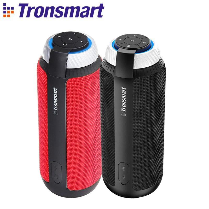 1 an de garantie Tronsmart Element T6 Mini haut-parleurs pour lecteur MP3 de musique Portable Bluetooth haut-parleur sans fil barre de son Audio