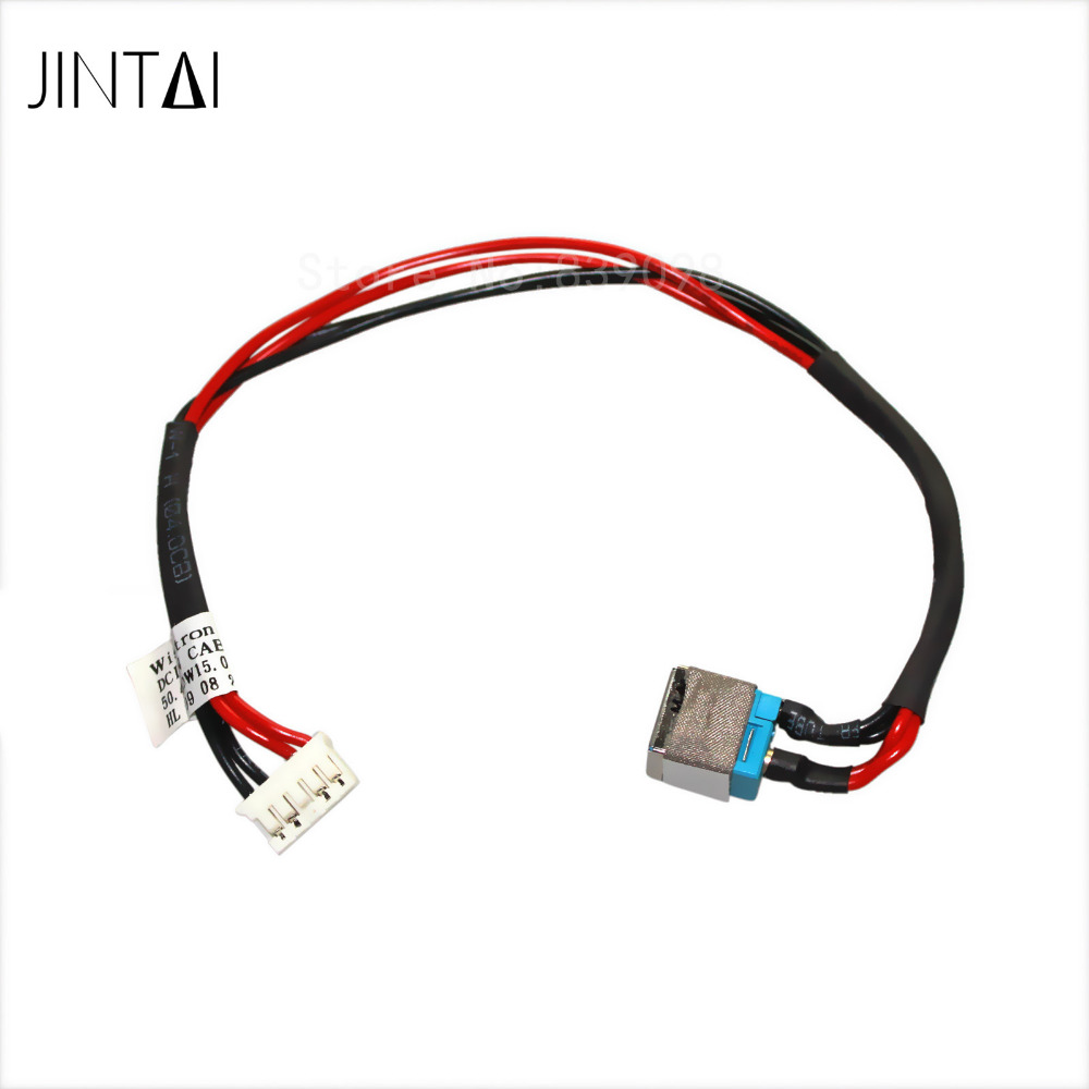 jintai laptop dc power jack socket connector w   cable for