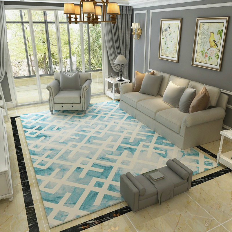 Europe Simple Sofa Carpets For Living Room Home Rugs For Bedroom Big Home Decor Study Floor Mat Coffee Table Rugs And Carpets