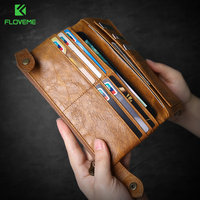 FLOVEME Universal 5 5 Leather Case For IPhone 5 5s 6 6s 6 Plus 6s Plus