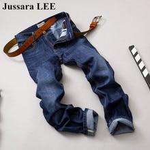 Новая Мода 2016 известный бренд мужчин джинсы Осень-Зима джинсы тонкий джинсы брюки брюки мужской длинные джинсы pantalones hombre