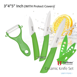 Paring Ceramic Knife Peeling Utility Kitchen Ceramic Knives Sets Ceramic Peeler High Quality Timhome Brand