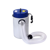 Wood dust collector vacuum cleaner for woodworking machinery